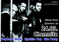 Depeche Mode | 80's | Synthie Pop | Party im Nikola Tesla Chemnitz