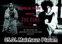 Depeche Mode meets The Cure Party - Music for the Masses Vol. XII im Malzhaus Plauen