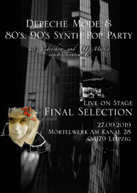 Depeche Mode & 80's/90's Synth Pop Party | Live Final Selection im Mørtelwerk Leipzig
