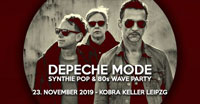 Depeche Mode Synthie Pop - 80's Wave Party im Kobra Keller Leipzig