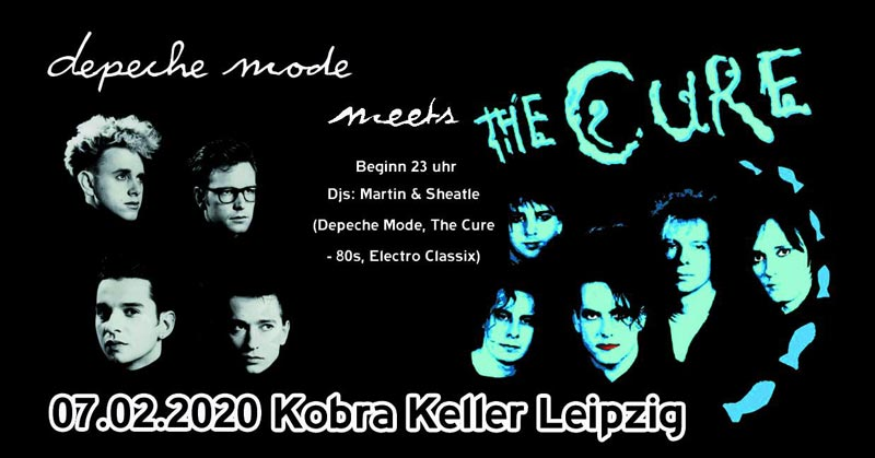 Depeche Mode meets The Cure im Kobra Keller Leipzig